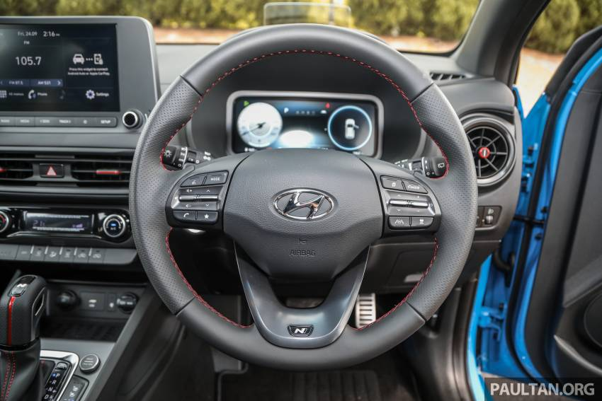 GALLERY: 2021 Hyundai Kona N Line facelift on the road in Malaysia – sportier 1.6 turbo model, RM157k Image #1351228