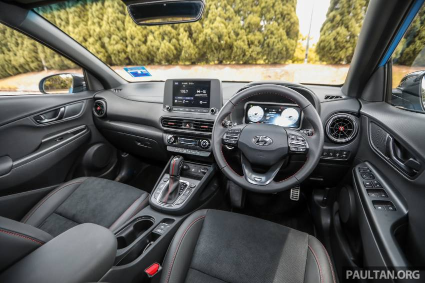 GALLERY: 2021 Hyundai Kona N Line facelift on the road in Malaysia – sportier 1.6 turbo model, RM157k Image #1351265
