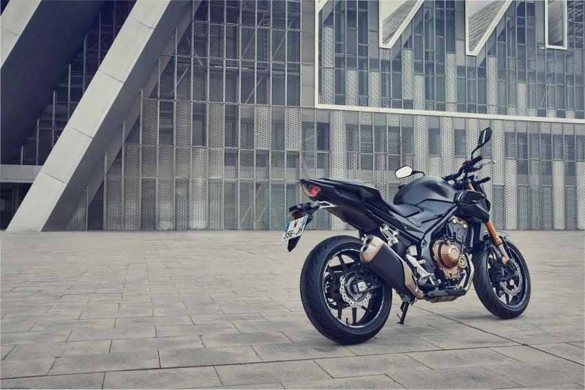 2022 Honda CB500 range updated, Euro 5, Showa fork Image #1340258