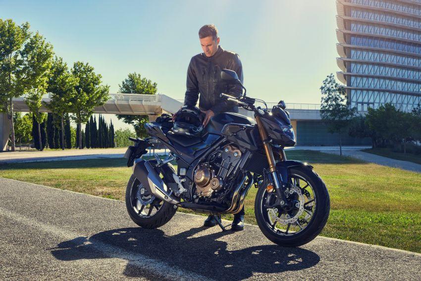2022 Honda CB500 range updated, Euro 5, Showa fork Image #1340262