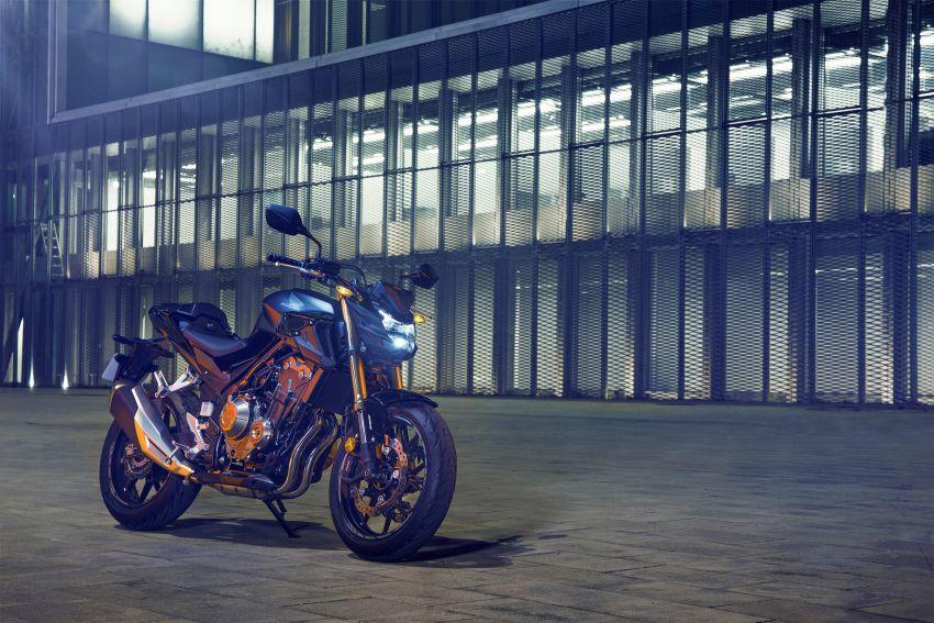 2022 Honda CB500 range updated, Euro 5, Showa fork Image #1340263