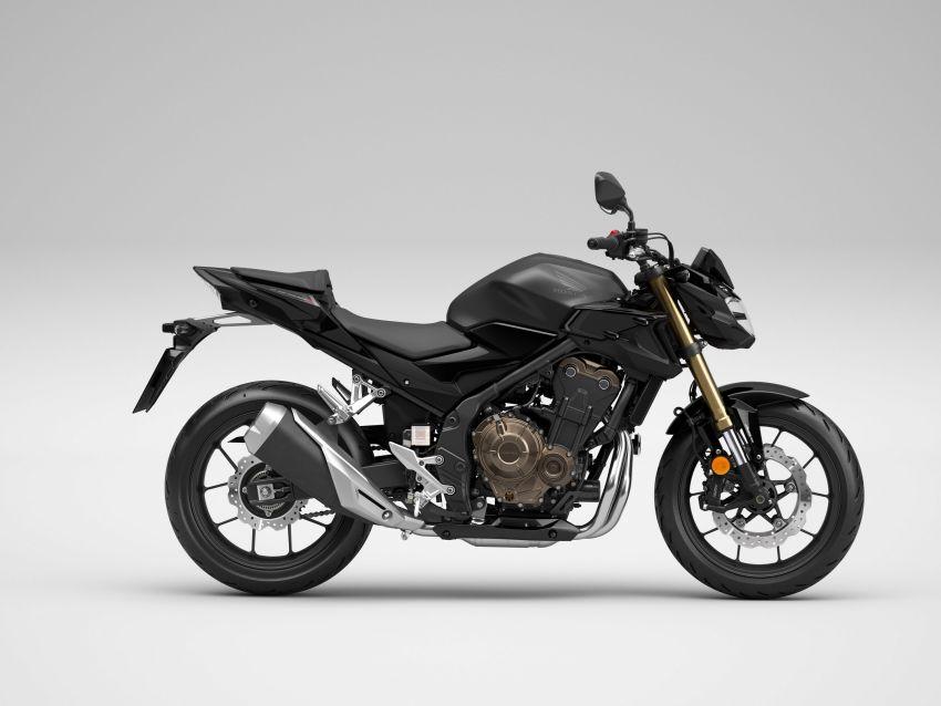 2022 Honda CB500 range updated, Euro 5, Showa fork Image #1340267