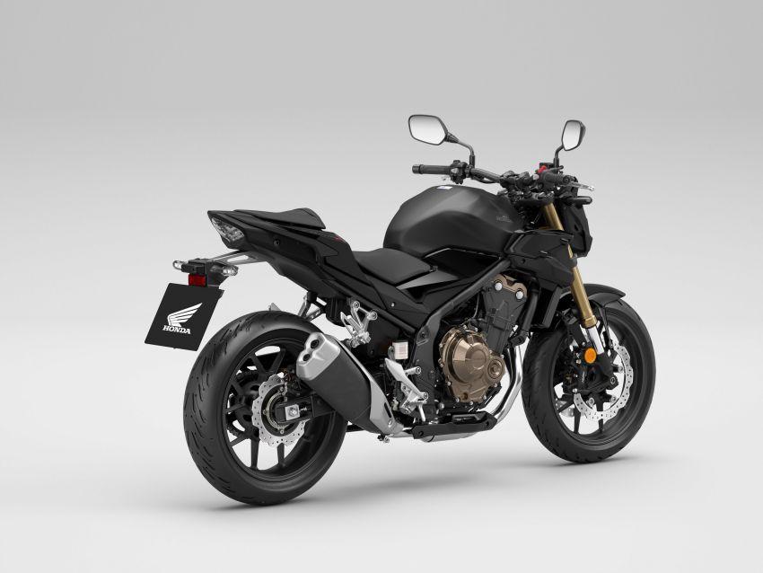 2022 Honda CB500 range updated, Euro 5, Showa fork Image #1340269