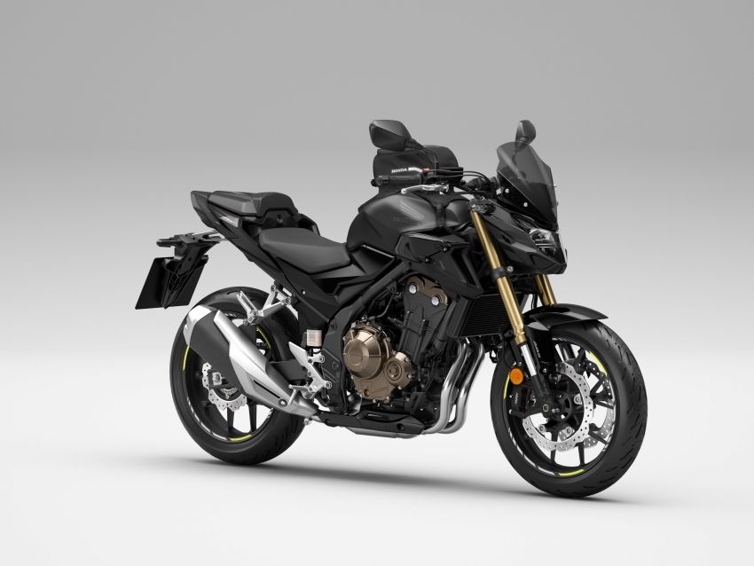 2022 Honda CB500 range updated, Euro 5, Showa fork Image #1340273