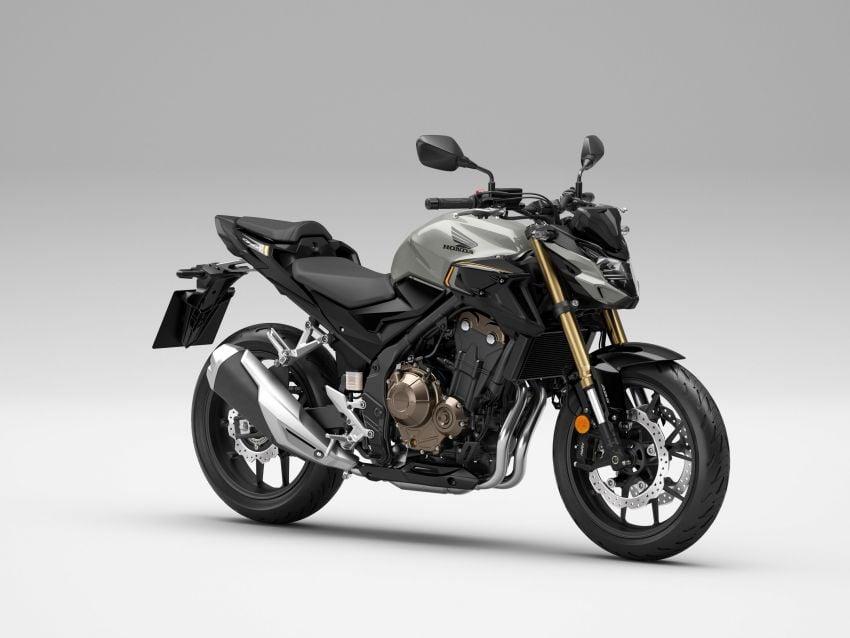 2022 Honda CB500 range updated, Euro 5, Showa fork Image #1340249
