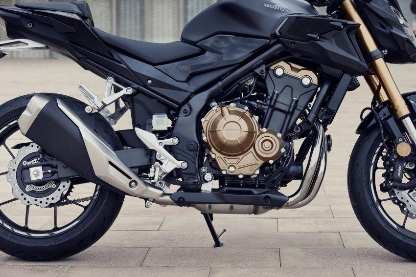 2022 Honda CB500 range updated, Euro 5, Showa fork Image #1340250