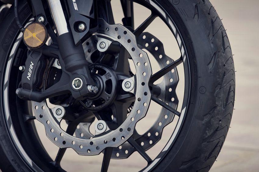 2022 Honda CB500 range updated, Euro 5, Showa fork Image #1340252
