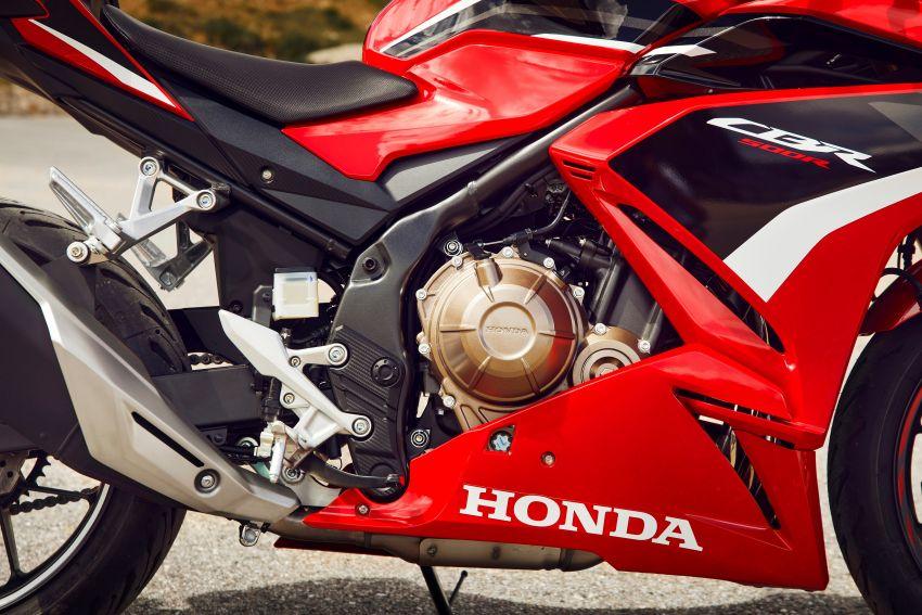 2022 Honda CB500 range updated, Euro 5, Showa fork Image #1340400
