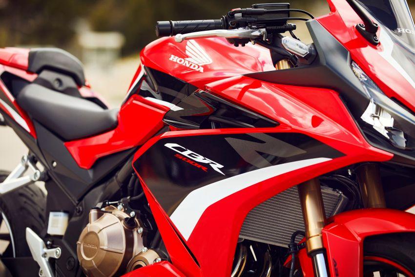 2022 Honda CB500 range updated, Euro 5, Showa fork Image #1340402