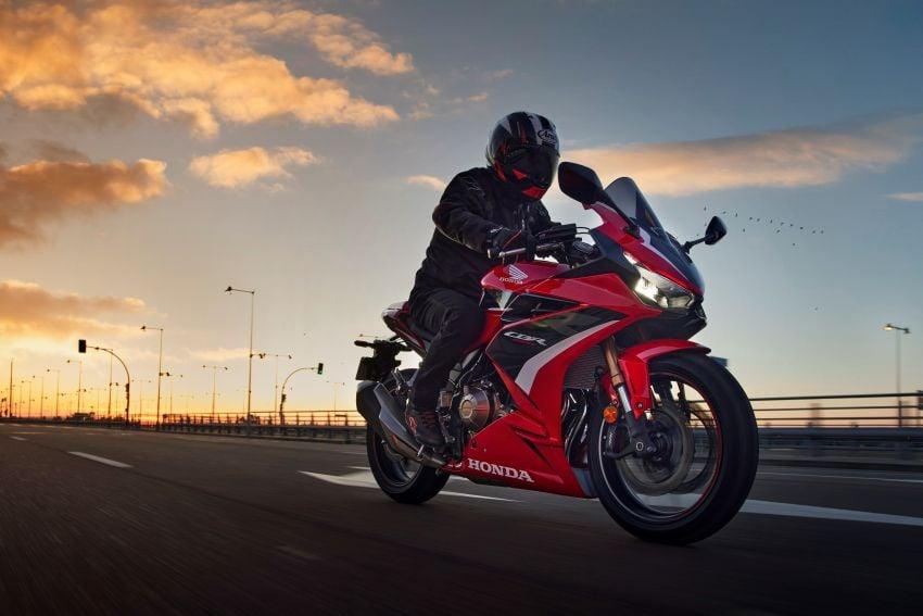 2022 Honda CB500 range updated, Euro 5, Showa fork Image #1340413