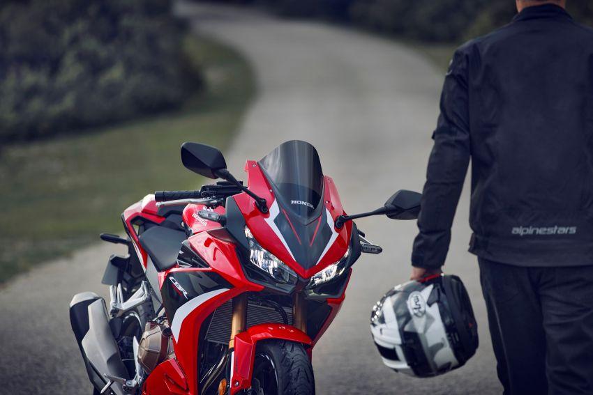 2022 Honda CB500 range updated, Euro 5, Showa fork Image #1340414