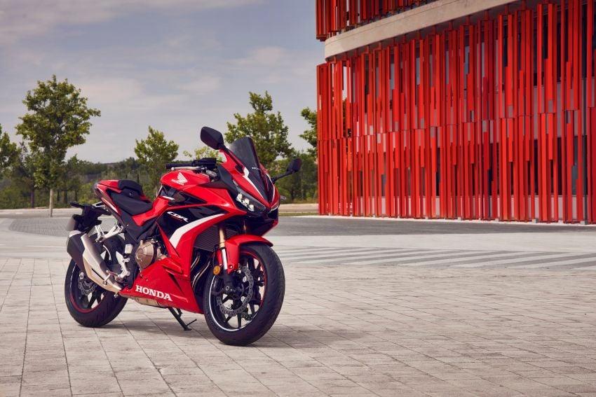 2022 Honda CB500 range updated, Euro 5, Showa fork Image #1340417