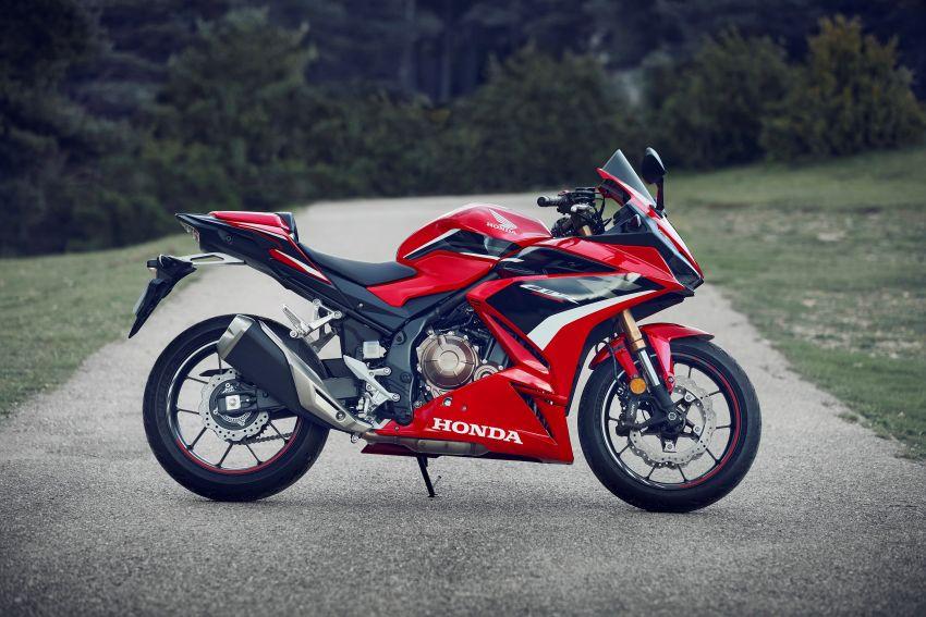 2022 Honda CB500 range updated, Euro 5, Showa fork Image #1340418