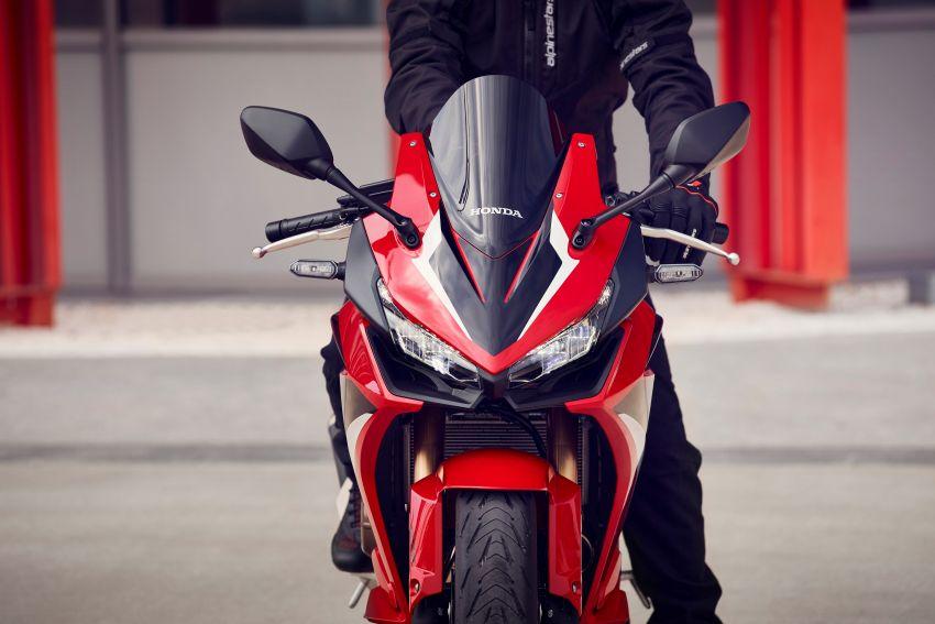 2022 Honda CB500 range updated, Euro 5, Showa fork Image #1340419