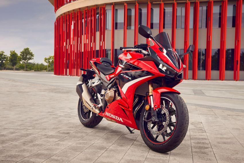 2022 Honda CB500 range updated, Euro 5, Showa fork Image #1340423