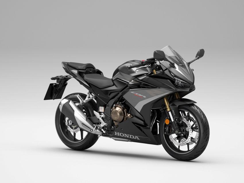 2022 Honda CB500 range updated, Euro 5, Showa fork Image #1340425