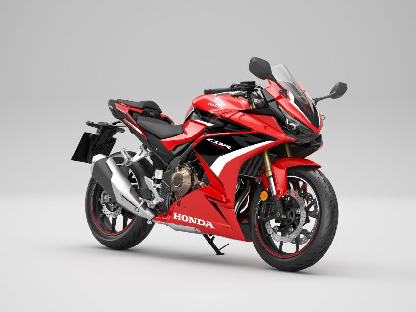 2022 Honda CB500 range updated, Euro 5, Showa fork Image #1340390