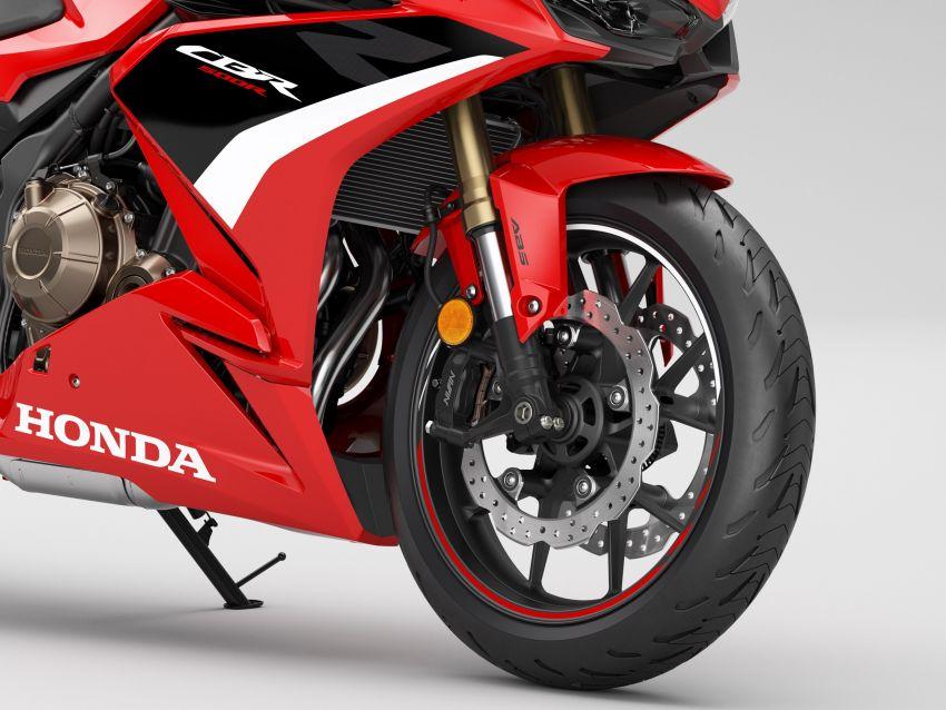 2022 Honda CB500 range updated, Euro 5, Showa fork Image #1340392