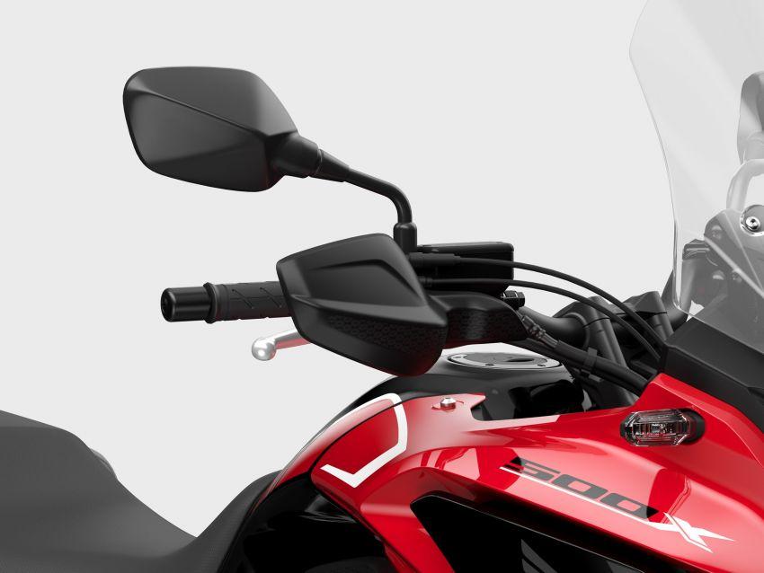 2022 Honda CB500 range updated, Euro 5, Showa fork Image #1340454