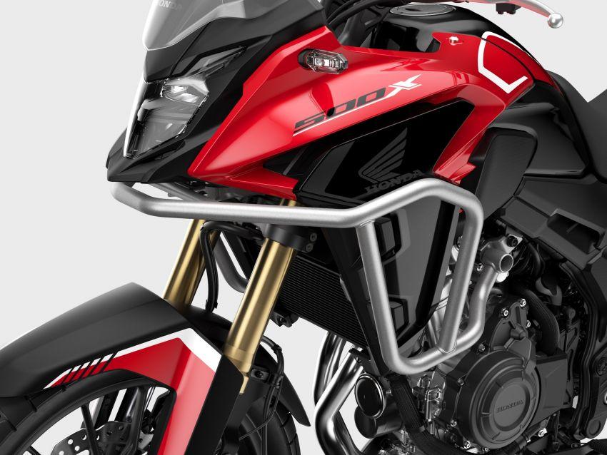 2022 Honda CB500 range updated, Euro 5, Showa fork Image #1340455