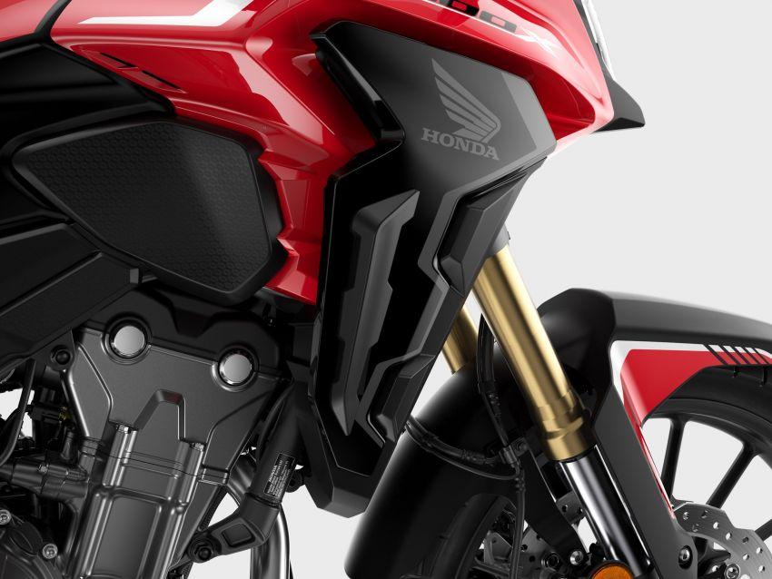 2022 Honda CB500 range updated, Euro 5, Showa fork Image #1340456