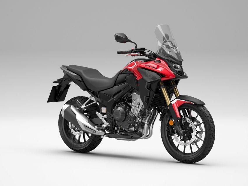 2022 Honda CB500 range updated, Euro 5, Showa fork Image #1340441