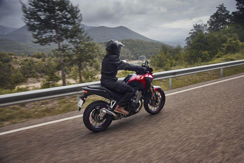 2022 Honda CB500 range updated, Euro 5, Showa fork Image #1340467