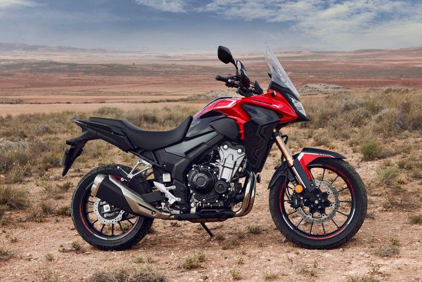 2022 Honda CB500 range updated, Euro 5, Showa fork Image #1340471