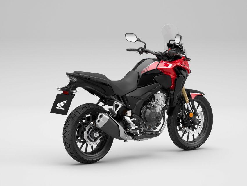 2022 Honda CB500 range updated, Euro 5, Showa fork Image #1340443