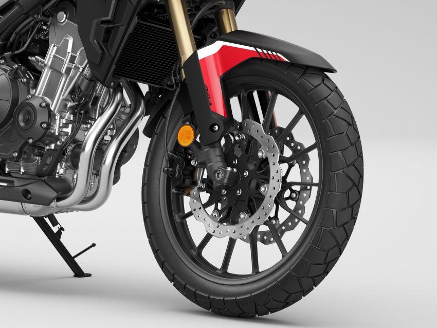 2022 Honda CB500 range updated, Euro 5, Showa fork Image #1340449