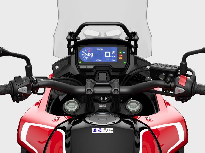 2022 Honda CB500 range updated, Euro 5, Showa fork Image #1340450