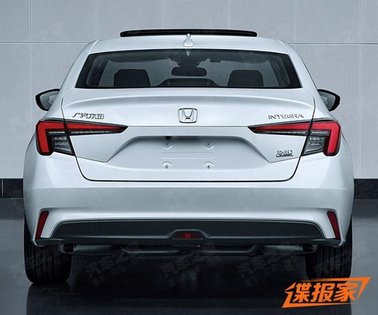 2022 Honda Integra in China is a Civic with a new face Image #1344572