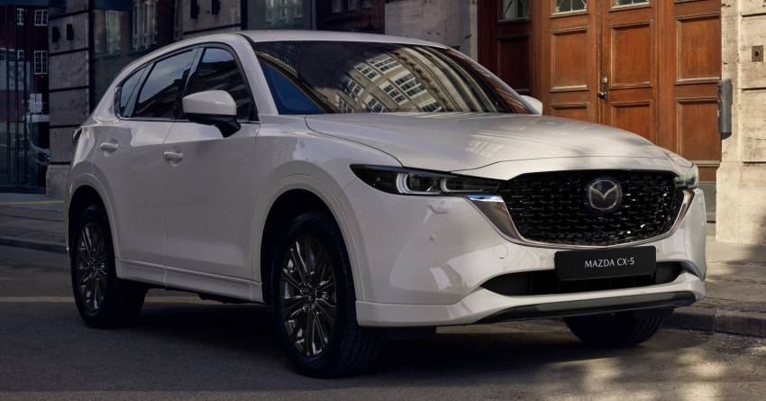 2022 Mazda CX-5 facelift debuts – updated styling, revised suspension, new Mi-Drive drive mode selector Image #1346669