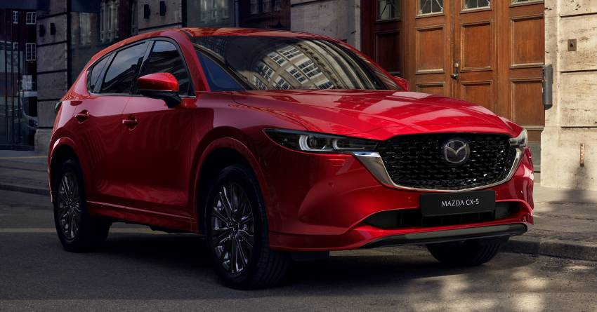 2022 Mazda CX-5 facelift debuts – updated styling, revised suspension, new Mi-Drive drive mode selector Image #1346670