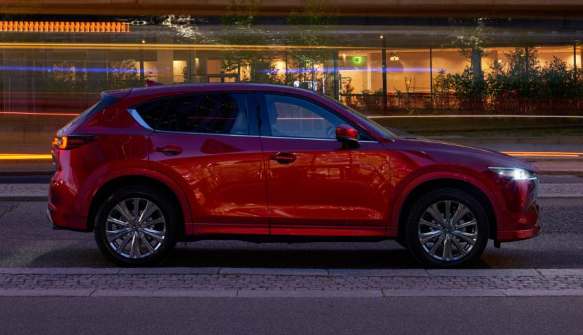 2022 Mazda CX-5 facelift debuts – updated styling, revised suspension, new Mi-Drive drive mode selector Image #1346690
