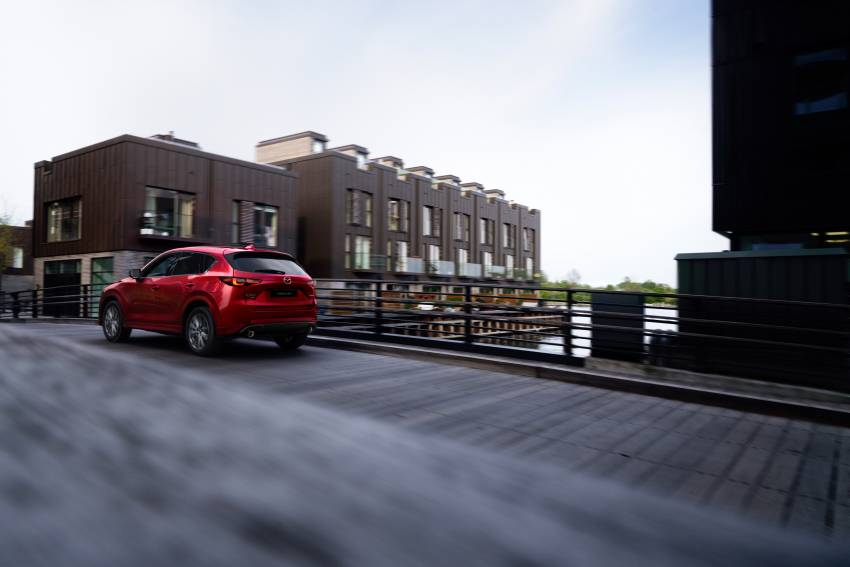 2022 Mazda CX-5 facelift debuts – updated styling, revised suspension, new Mi-Drive drive mode selector Image #1346692