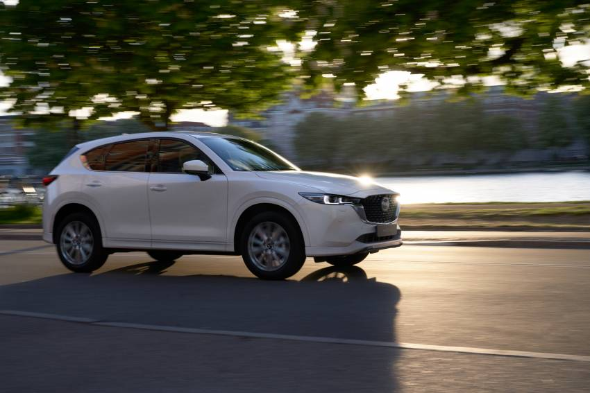 2022 Mazda CX-5 facelift debuts – updated styling, revised suspension, new Mi-Drive drive mode selector Image #1346694