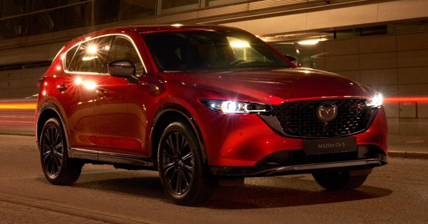 2022 Mazda CX-5 facelift debuts – updated styling, revised suspension, new Mi-Drive drive mode selector Image #1346696