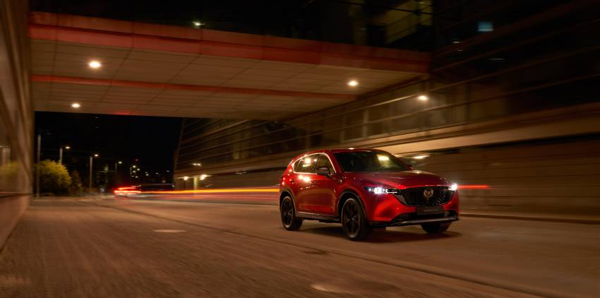 2022 Mazda CX-5 facelift debuts – updated styling, revised suspension, new Mi-Drive drive mode selector Image #1346697
