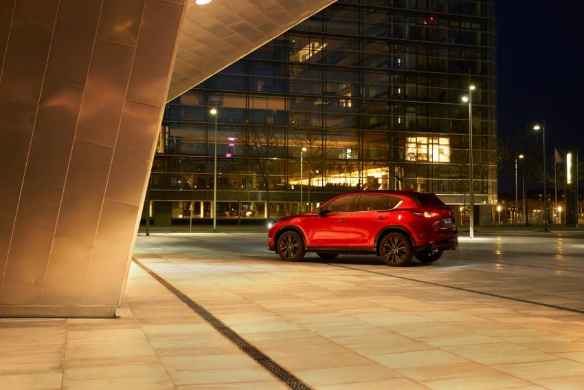 2022 Mazda CX-5 facelift debuts – updated styling, revised suspension, new Mi-Drive drive mode selector Image #1346698