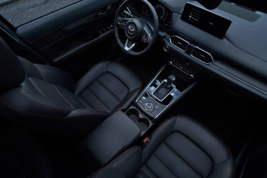 2022 Mazda CX-5 facelift debuts – updated styling, revised suspension, new Mi-Drive drive mode selector Image #1346699