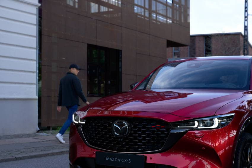 2022 Mazda CX-5 facelift debuts – updated styling, revised suspension, new Mi-Drive drive mode selector Image #1346701