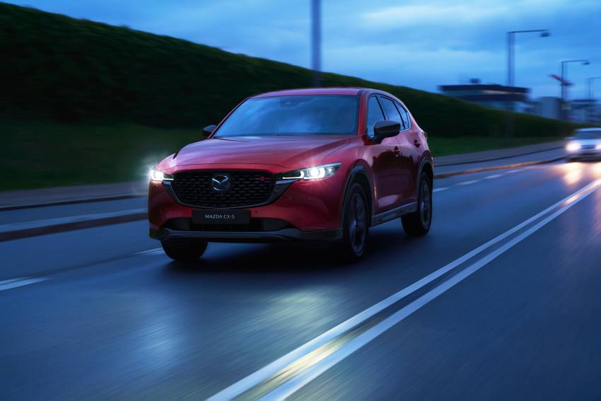 2022 Mazda CX-5 facelift debuts – updated styling, revised suspension, new Mi-Drive drive mode selector Image #1346702