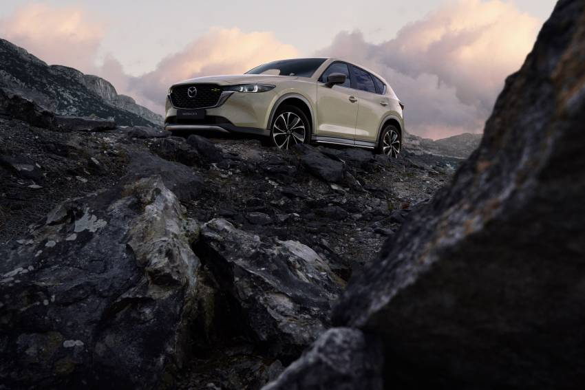 2022 Mazda CX-5 facelift debuts – updated styling, revised suspension, new Mi-Drive drive mode selector Image #1346703
