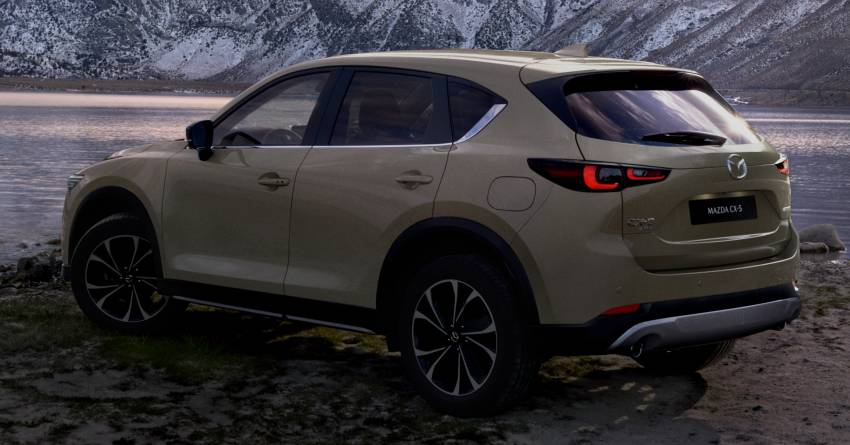 2022 Mazda CX-5 facelift debuts – updated styling, revised suspension, new Mi-Drive drive mode selector Image #1346704