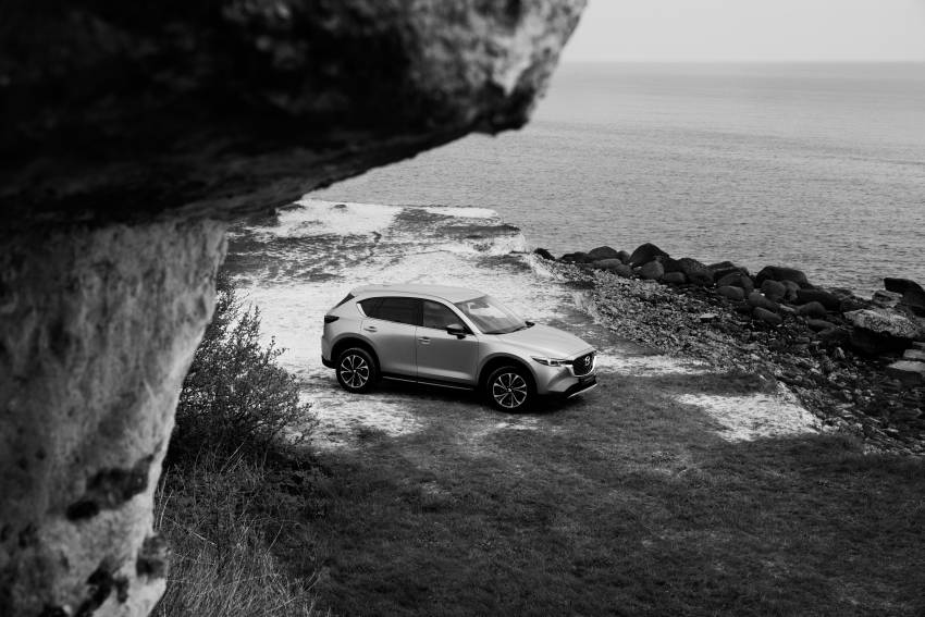 2022 Mazda CX-5 facelift debuts – updated styling, revised suspension, new Mi-Drive drive mode selector Image #1346705
