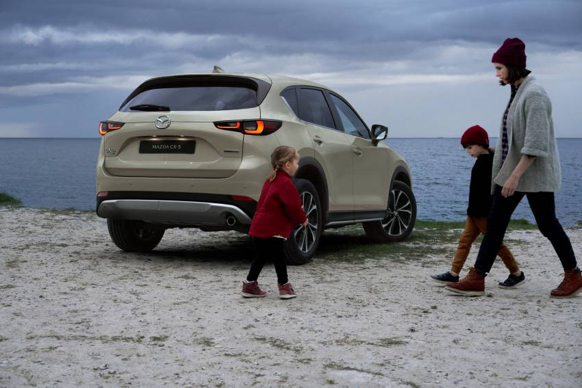 2022 Mazda CX-5 facelift debuts – updated styling, revised suspension, new Mi-Drive drive mode selector Image #1346708