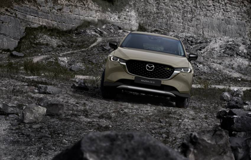 2022 Mazda CX-5 facelift debuts – updated styling, revised suspension, new Mi-Drive drive mode selector Image #1346711