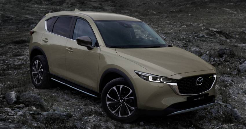 2022 Mazda CX-5 facelift debuts – updated styling, revised suspension, new Mi-Drive drive mode selector Image #1346712