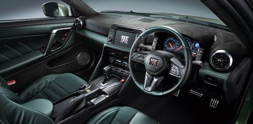 2022 Nissan GT-R T-spec limited editions mark return of iconic Midnight Purple and Millennium Jade colours Image #1346324